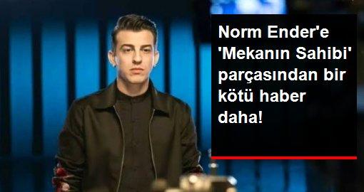 Norm Ender'e bir kötü haber daha! 'Mekanın Sahibi' parçası YouTube'dan kaldırıldı
