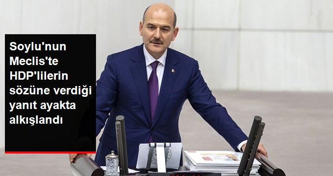 Bakan Soyludan Bu bütçe savaş bütçesidir diyen HDPlilere: Bu bütçe Diyarbakır annelerinin bütçesidir