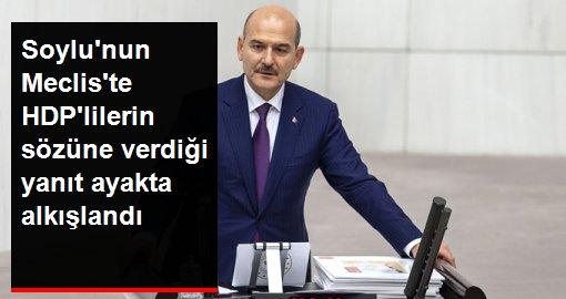 Bakan Soylu'dan Bu bütçe savaş bütçesidir diyen HDP'lilere: Bu bütçe Diyarbakır annelerinin bütçesidir