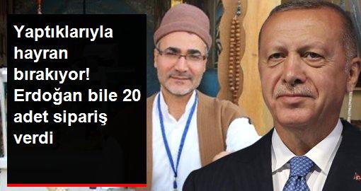 Yaptığı tespihlerle hayran bırakıyor! Erdoğan'ın koleksiyonunda 20 tespihi var