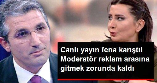 Canlı yayında Nedim Şener ve Sevilay Yılman arasında çözüm süreci gerginliği!