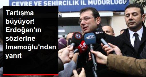 Cumhurbaşkanı Erdoğan'ın Kanal İstanbul'la ilgili yaptığı arsa çıkışına İmamoğlu'ndan yanıt geldi