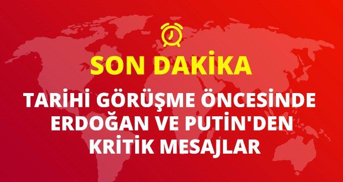Son dakika: Berlin'de Cumhurbaşkanı Erdoğan ile Putin görüşmesi sona erdi! Liderler kritik mesajlar verdi