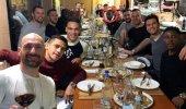 F.Bahçe'den ayrılığı belgelendi, yeni takımının yemeğinde görüldü