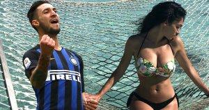 Matteo Politano ve Ginevra Sozzi'nin paylaşımları, yasak aşklarını ortaya çıkardı