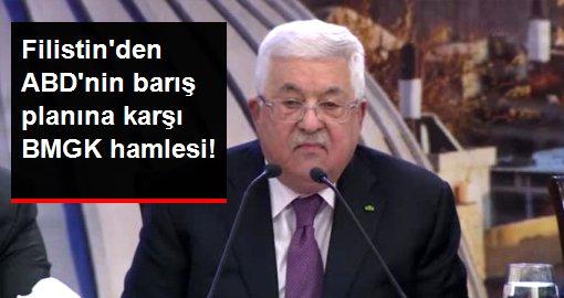 Filistin Devlet Başkanı Mahmud Abbas, ABD'nin Ortadoğu planına BMGK'da karşı çıkacak