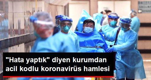 Son dakika: Ölümcül koronavirüs ile ilgili Hata yaptık diyen DSÖ, acil toplanma kararı aldı