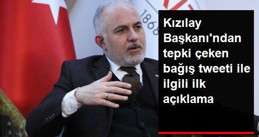 Kızılay Başkanı Kerem Kınık: Deprem günü attığım tweetten pişman oldum