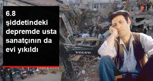 Elazığ depreminde usta sanatçı Kemal Sunal'ın evi de yıkıldı