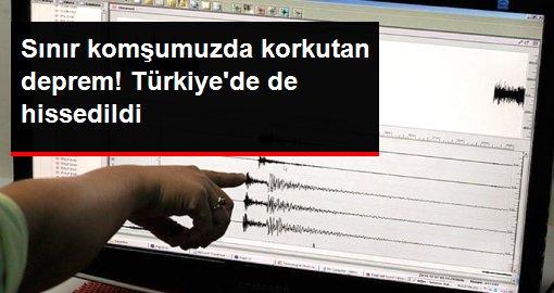 İran'da 4,8 büyüklüğünde deprem oldu