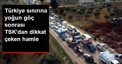 Suriye sınırındaki birliklere beton mevzi sevkiyatı yapıldı