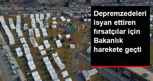 Bakan Kurum açıkladı: Elazığ'da artan kira fiyatlarına işlem yapılacak