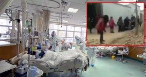 Çin'de ölümcül salgında tedavi edilen hastaya korkunç karşılama