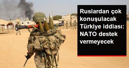 TASS: NATO, Türkiye'nin olası Suriye operasyonuna askeri destek vermeyecek
