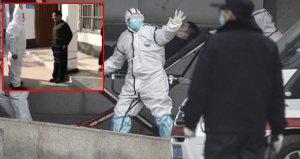 Çin'de korkunç görüntüler! Maske takmayan adamı cezalandırdılar