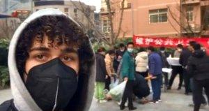 Çin'de yaşayan Türk öğretmenden çaresiz sözler: Dönemiyorum