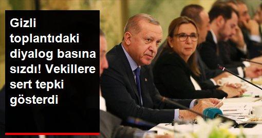 Cumhurbaşkanı Erdoğan'dan vekillere 'kuruluş ilkeleri' tepkisi: Pasif davranıyorsunuz