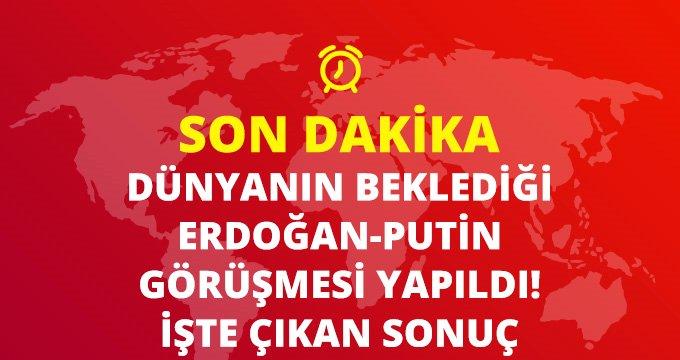 Son Dakika: Cumhurbaşkanı Erdoğan, Putin ile telefonda görüştü: Taraflar tüm anlaşmalara bağlı olduğunu ifade etti