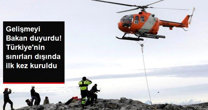 Türkiye'nin sınırları dışındaki ilk sabit GNSS istasyonu Antarktika'ya kuruldu