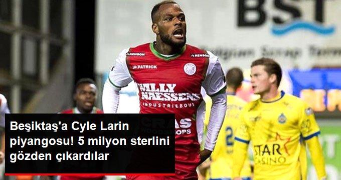 Beşiktaşa Cyle Larin piyangosu! 5 milyon sterlini gözden çıkardılar