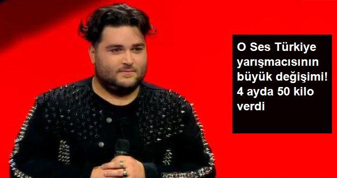 O Ses Türkiye yarışmacısının büyük değişimi! 4 ayda 50 kilo verdi