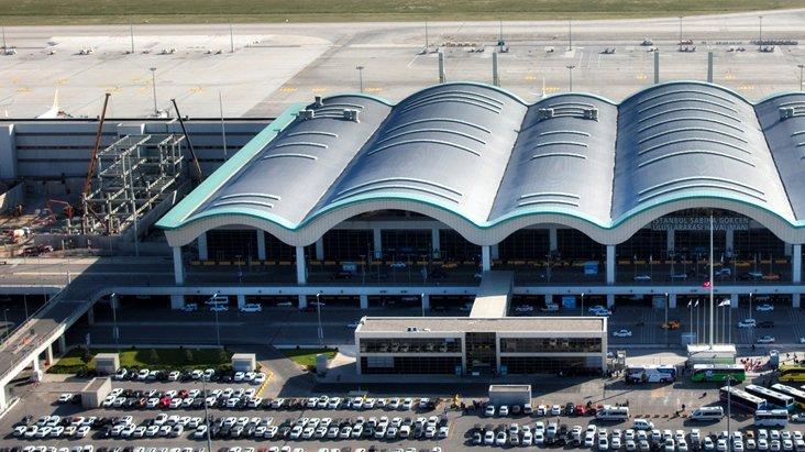 Sabiha Gökçen Havalimanı'nda bütün uçuşlar durduruluyor