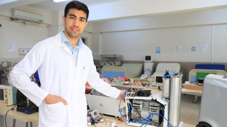 Koronavirüsle mücadelede en kritik cihaz! Yarı fiyatına ürettiler
