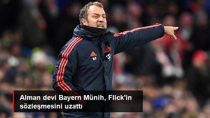 Alman devi Bayern Münih, Flick in sözleşmesini uzattı