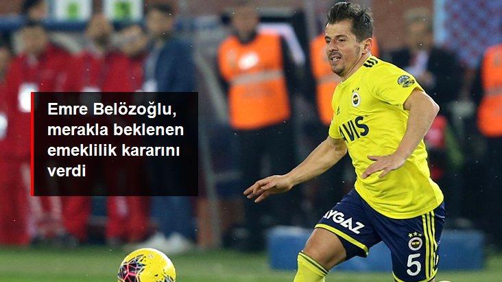 Emre Belözoğlu, merakla beklenen emeklilik kararını verdi