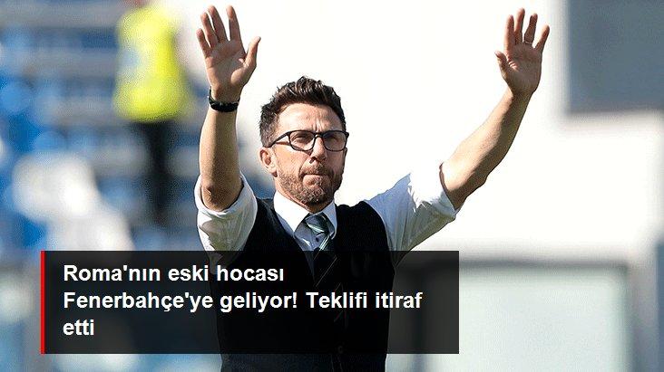 Roma nın eski hocası Fenerbahçe ye geliyor! Teklifi itiraf etti