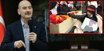 İçişleri Bakanı Süleyman Soylu: Helin Bölek'i öldürüp etrafında dans ettiler, yamyamlarda var bu yöntem