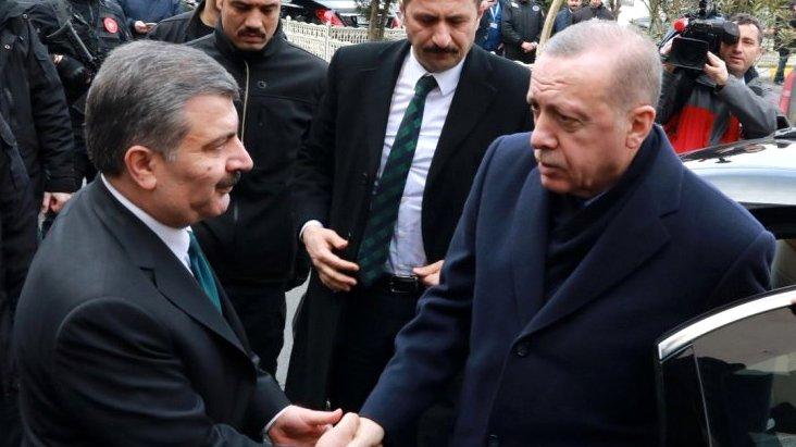 Liderler anketinde Fahrettin Koca sürprizi! Cumhurbaşkanı Erdoğan ...