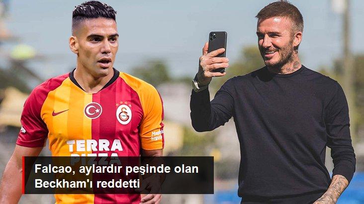 Falcao, aylardır peşinde olan Beckham ı reddetti