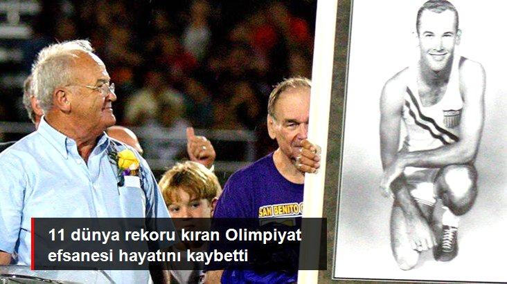 11 dünya rekoru kıran Olimpiyat efsanesi hayatını kaybetti