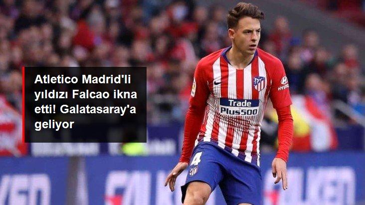 Atletico Madrid li yıldızı Falcao ikna etti! Galatasaray a geliyor