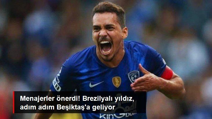 Menajerler önerdi! Brezilyalı yıldız, adım adım Beşiktaş a geliyor