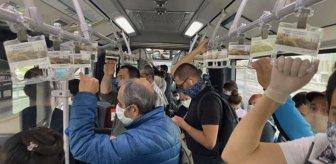 Son Dakika: Toplu taşıma araçları üçte bir oranında ayakta yolcu alabilecek