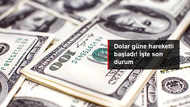 Güne yükselişle başlayan dolar 6,76'dan işlem görüyor