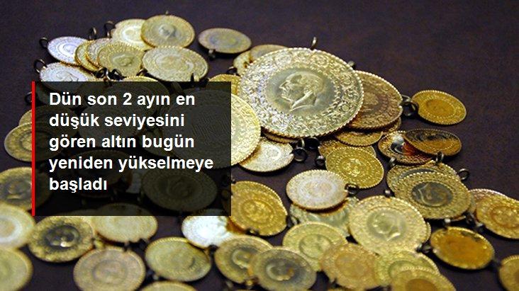 Dün 366 lirayla son 2 ayın en düşük seviyesine gerileyen gram altın, bugün 372,5 liradan işlem görüyor