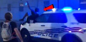 ABD'de polisler, aracı göstericilerin üzerine sürdü, polis şefi ise doğru olanın yapıldığını söyledi