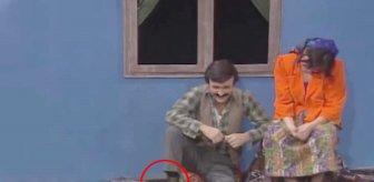 Erol Evgin'in yıllar önce klip çekiminde kadın çorabı giymesi gündem oldu