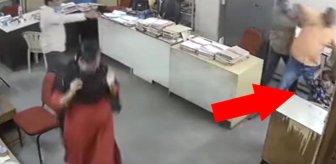 'Maskeni tak' diye uyaran iş arkadaşına saldırıp saçından sürükledi