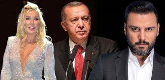 Alişan ve Seda Sayan'dan sosyal medya mecralarını düzene sokmak isteyen Erdoğan'a destek
