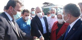İki Bakan, 'patlamanın yaşandığı fabrikada denetimler yapılmıyor' iddialarına yanıt verdi
