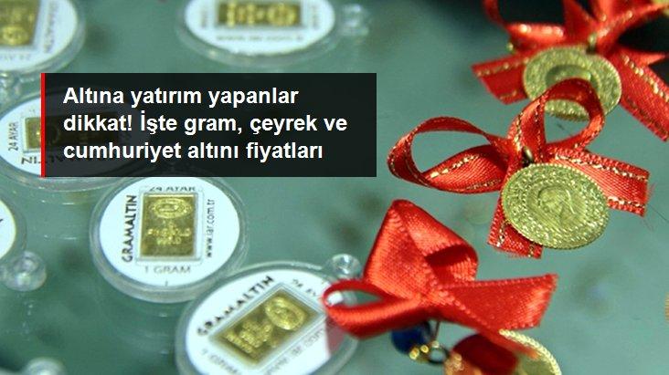 Altının gram fiyatı 392 liradan işlem görüyor