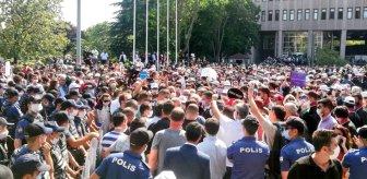 Avukatlar yasak dinlemedi! Meclis'e yürümek isteyen baro başkanları barikata takıldı