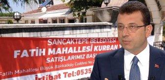 İBB'nin Sancaktepe'deki kurban pankartlarını kesmesine Belediye Başkanı Döğücü tepki gösterdi