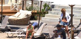 Rus milyarder Bodrum'da sahili kapatarak çalışanlara 7 bin 500 lira bahşiş bıraktı
