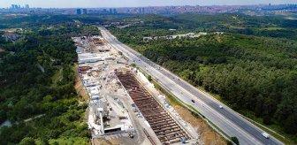 İstanbul Havalimanı'na ulaşım sorununu çözecek metro hattında sona yaklaşıldı