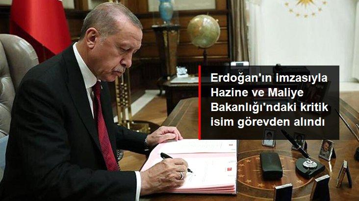 Cumhurbaşkanı kararıyla MASAK Başkanı Osman Dereli resmen görevden alındı